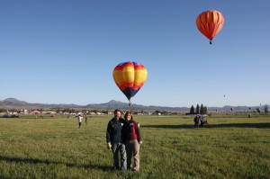Randy and Jodi at the Panguitch Valley Balloon Rally