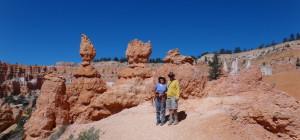 Jodi and Randy at the Bryce Navajo Loop