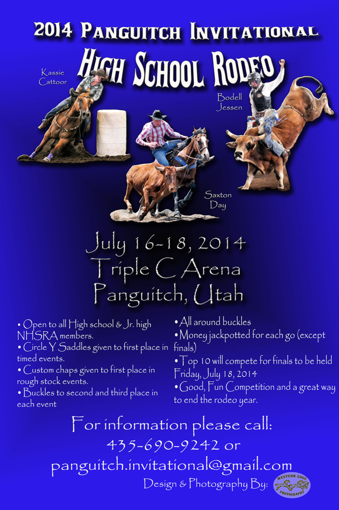 Panguitch Invitational High School Rodeo @ Triple C Arena | Panguitch | Utah | United States