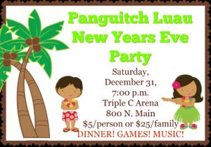 New Years Party Luau @ Triple C Arena | Panguitch | Utah | United States