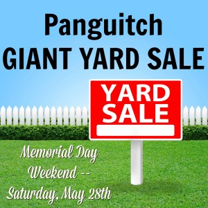 Giant Yard Sale on Main @ Panguitch Main