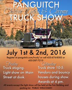 Panguitch Chicken Lights & Chrome Truck Show