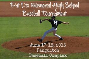 Pat Dix Baseball Tournament @ Panguitch Baseball Complex | Panguitch | Utah | United States