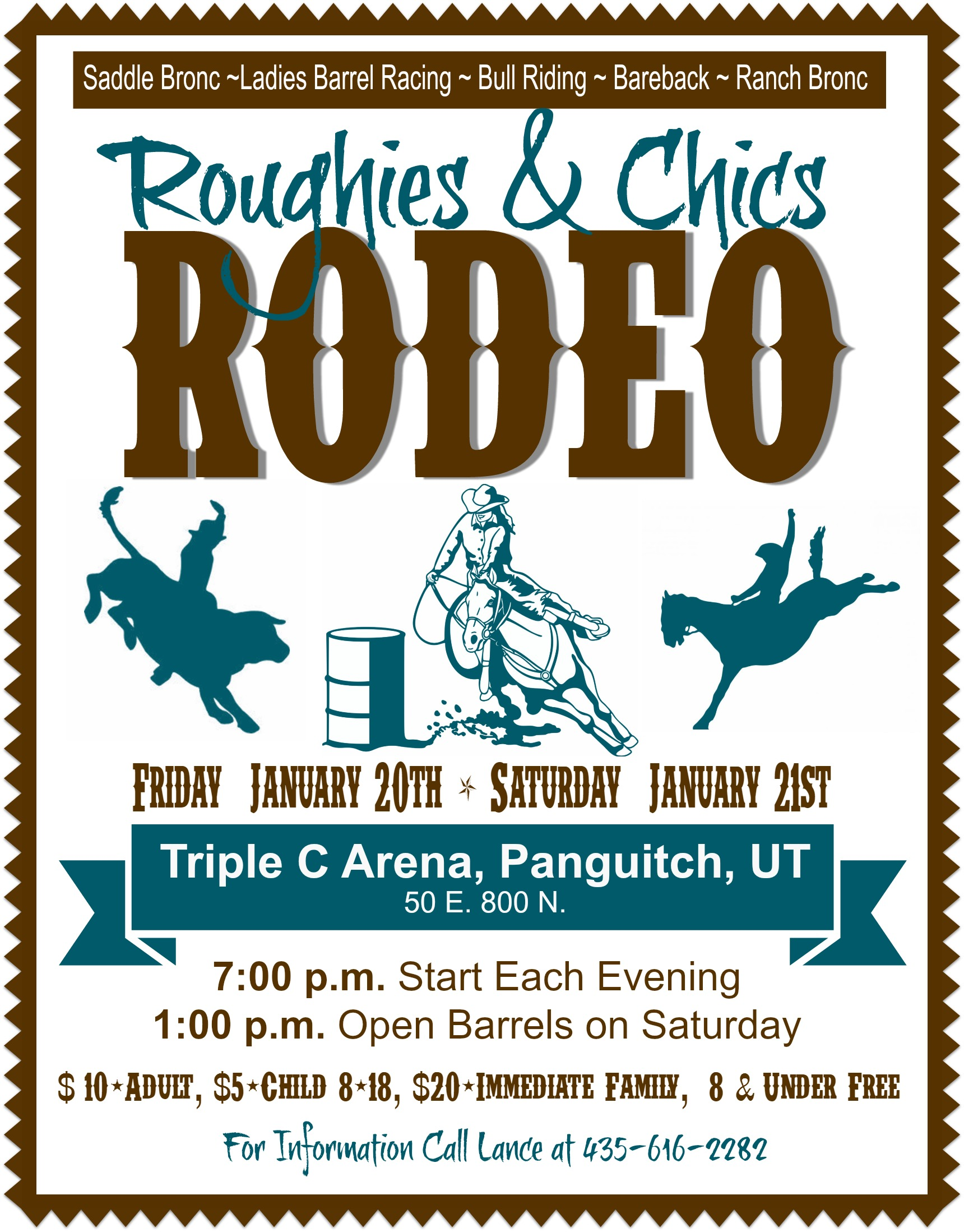 Roughies and Chics Rodeo @ Triple C Arena | Saint George | Utah | United States