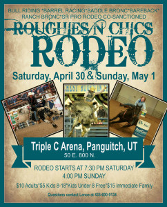 Roughies N Chics Rodeo @ Triple C Arena | Saint George | Utah | United States
