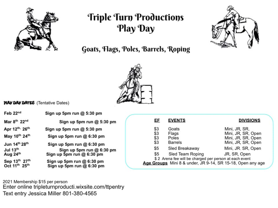 TTP Play Day @ Triple C Arena